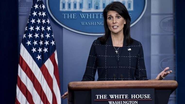 l'Ambassadeur Nikki Haley , USA