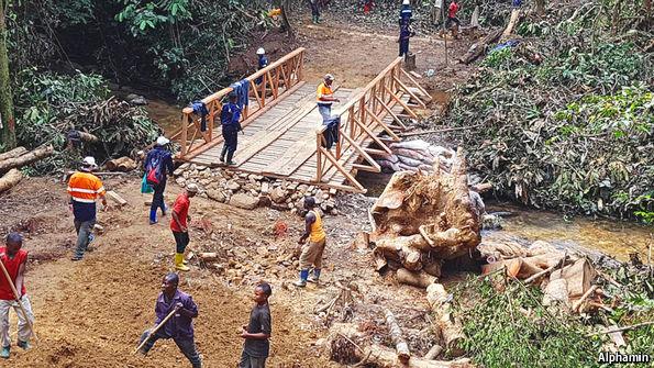 Bisie, Walikale, Nord Kivu, RD Congo