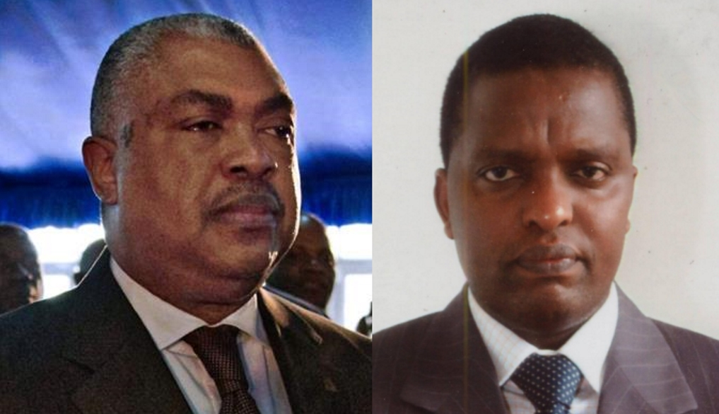 Samy Badibanga et Azarias Ruberwa