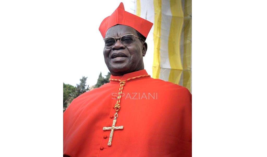 Son eminence, le cardinal Laurent Monsengwo