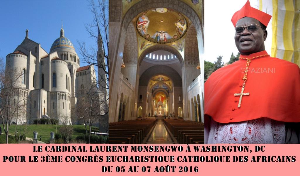 Cardinal Lauyrent Monsengho