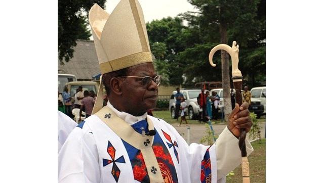 Son eminence, le cardinal Laurent Monsengwo