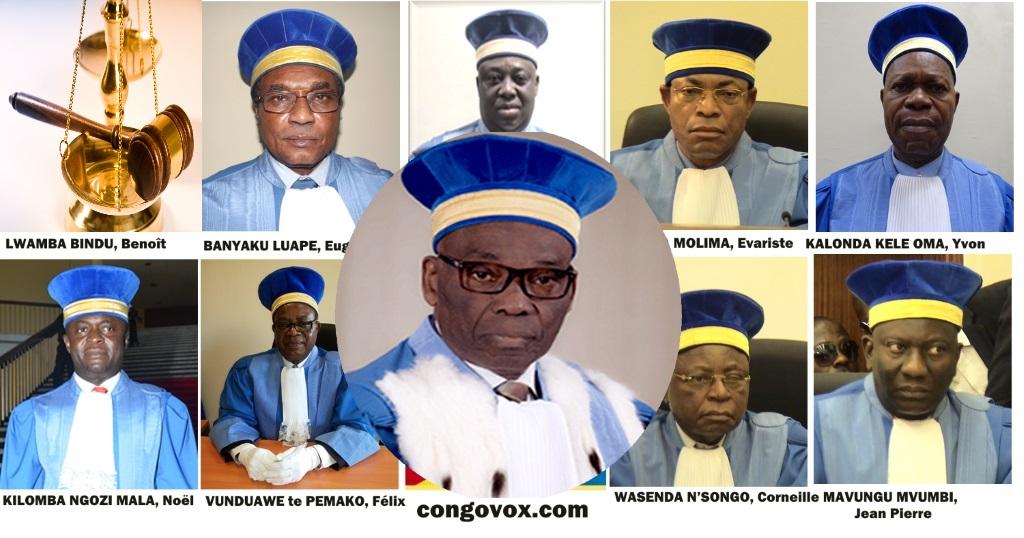 Cor Constitutionnelle et le Juge President Benoit Binda Lwamba