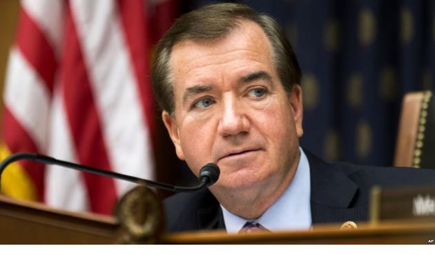 Ed Royce, président du Comité des affaires étrangères de la Chambre, Etats-Unis