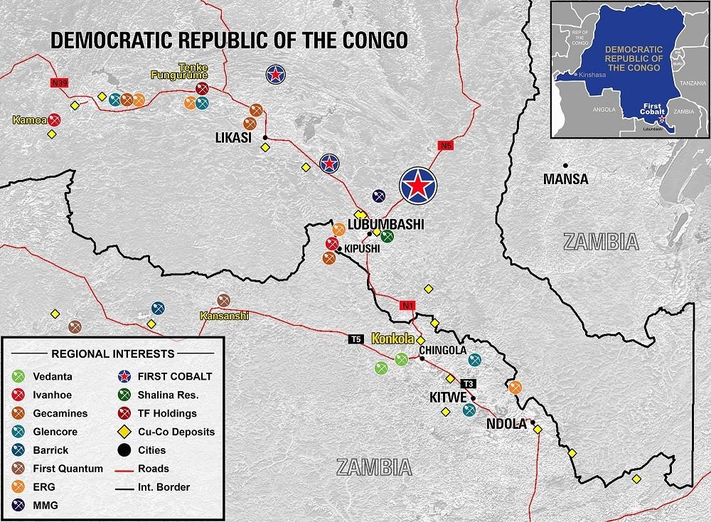 Mines de la  RDC
