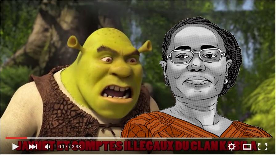 Shrek et Jaynet Kabila