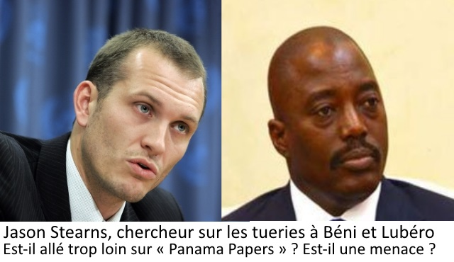 Jason Stearns et Joseph Kabila