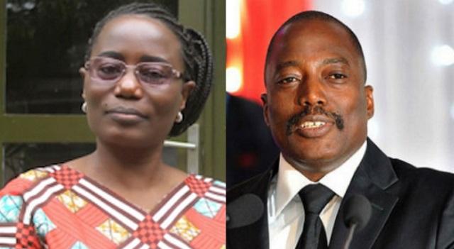 Jaynet et Joseph Kabila