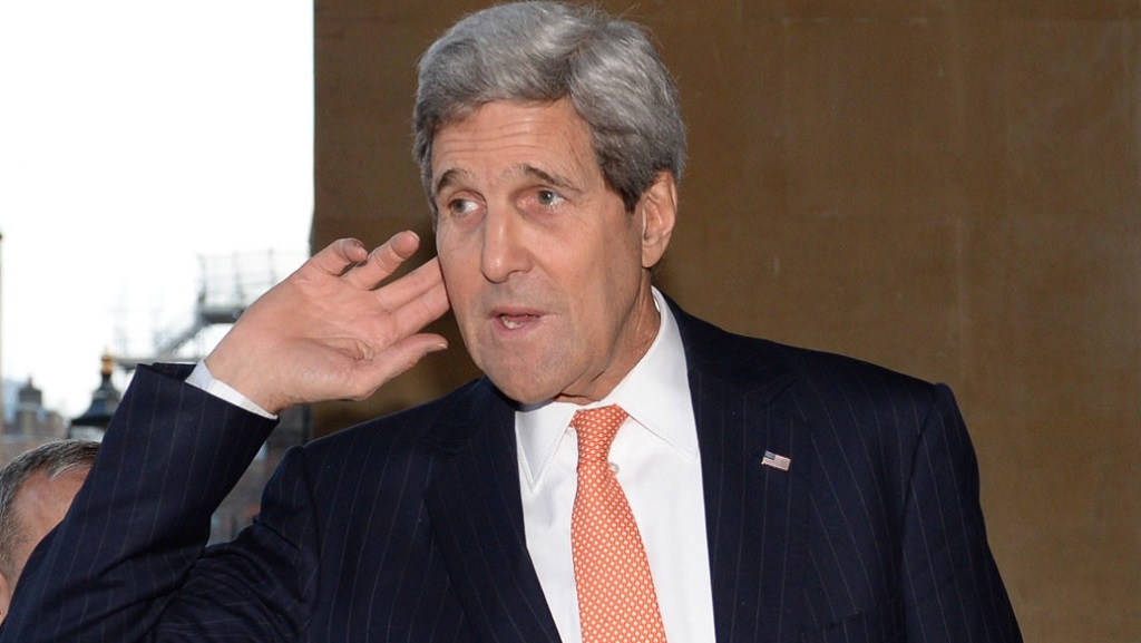 John Kerry, Secretaire d'Etat Americain