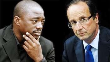 Joseph Kabila, Francois Hollande