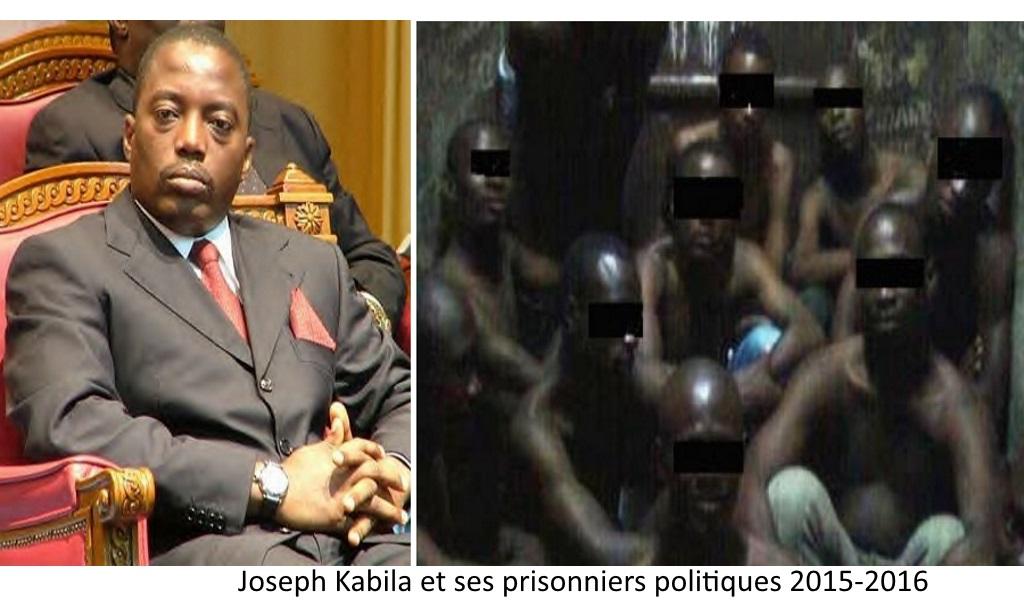 Joseph Kabila et ses prisonniers politiques