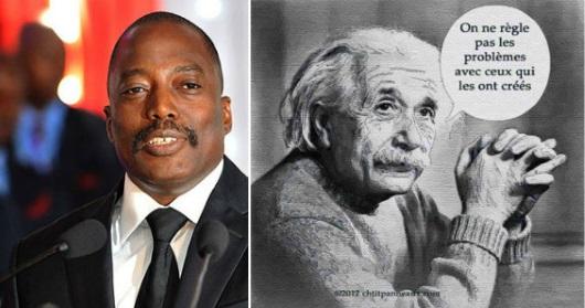 Joseph Kabila, Albert Einstein
