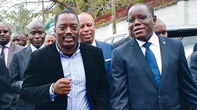Joseph Kabila et Aubin Minaku