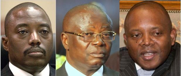 Joseph Kabila, Andre Kimbuta Yango, Abbe Malu Maulu