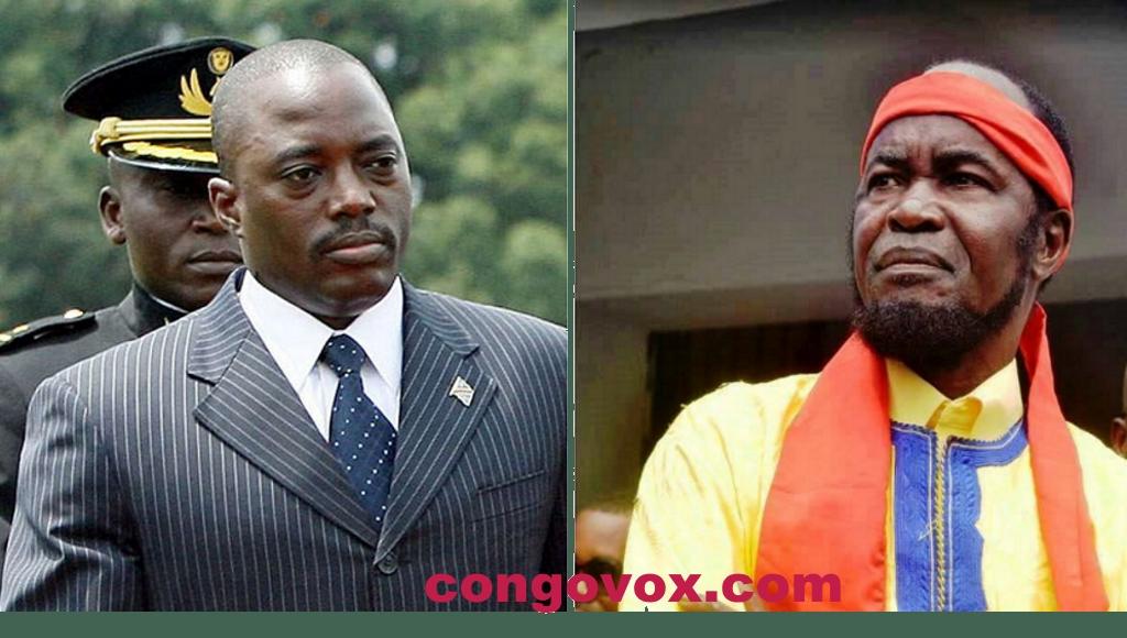 Joseph Kabila, Ne Mwanda Nsemi