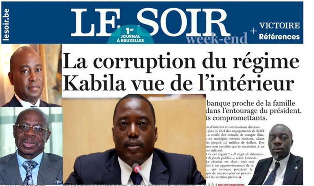 Deogratias Mutombo Mwana, Albert Yuma, Joseph Kabila