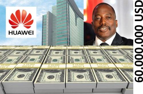 Joseph Kabila et son Partenaire Huawei