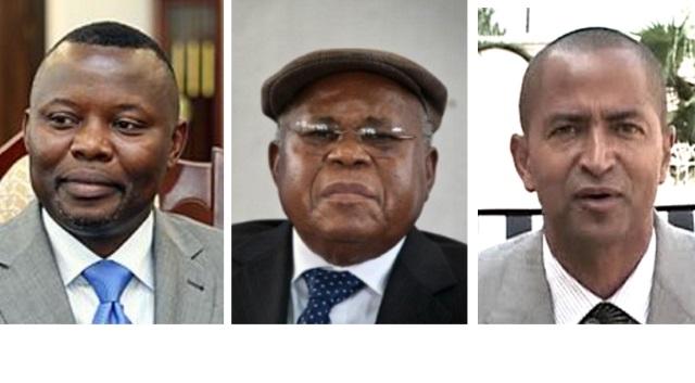 Vital Kamerhe, Etienne Tshisekedi et Moise Katumbi