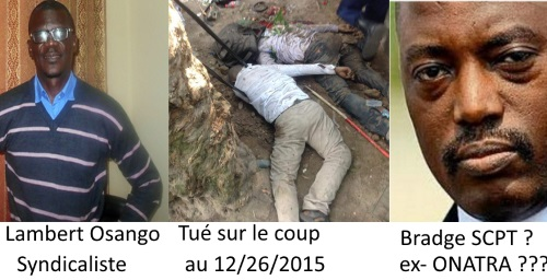 Assassinat du syndicaliste Lambert Osango