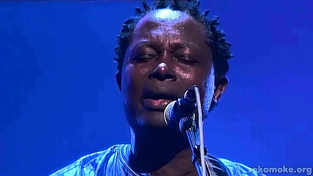 Le musicien Pascal Lokua Kanza