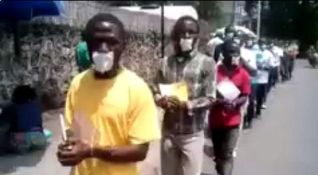 Arrestation arbitraire des militants de la LUCHA