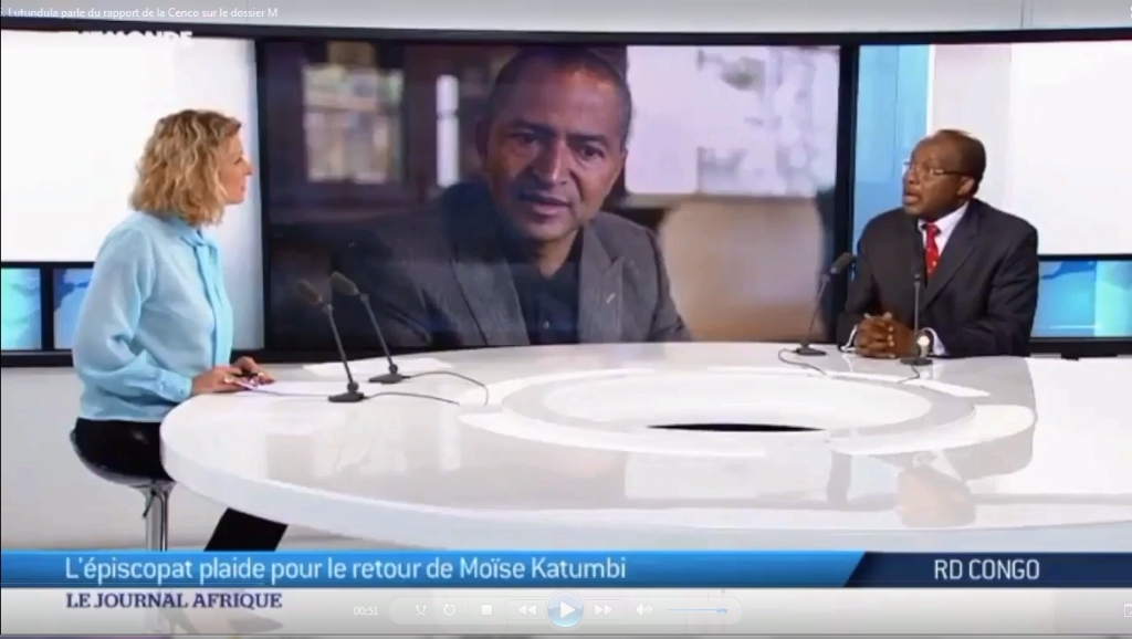 TV5 Monde: Christophe Lutundula