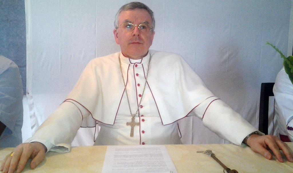 Le Nonce apostolique a Kinshasa, Mgr Luis Mariano Montemayor