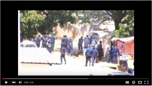 POLICE ET ARMEE CONTRE LES FANS DU TP MAZEMBE