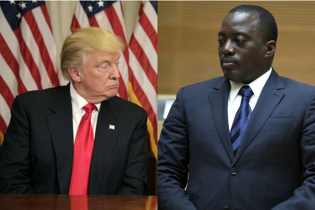 Joseph Kabila, ici en février 2013, espère que Donald Trump finisse par le laisser prendre racine à la tête de République démocratique du Congo Joshua Roberts / Reuters