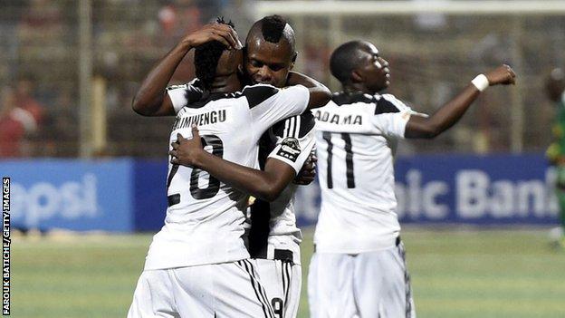 Tout Puissant Mazembe, champions d'Afrique