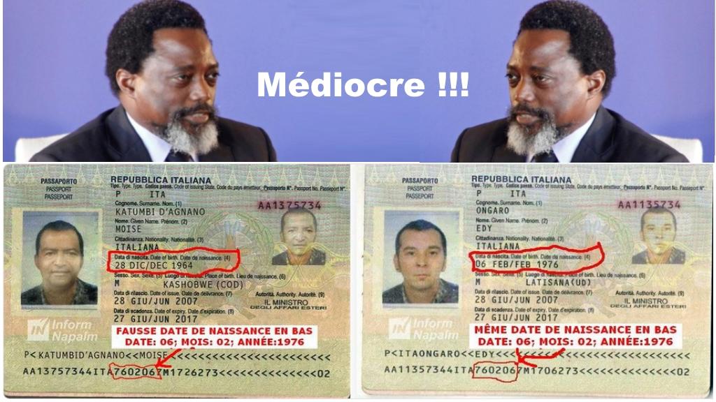 Joseph Kabila et l'Affaire Passeport