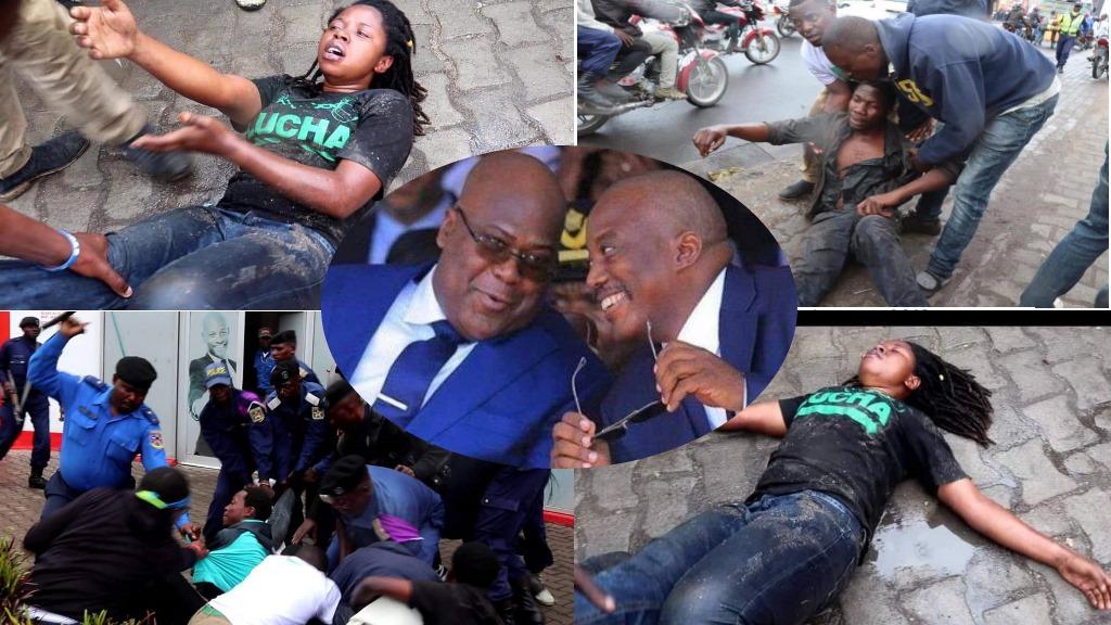 LUCHA, Rebecca Kavugho, Felix Tshisekedi, Joseph Kabila,