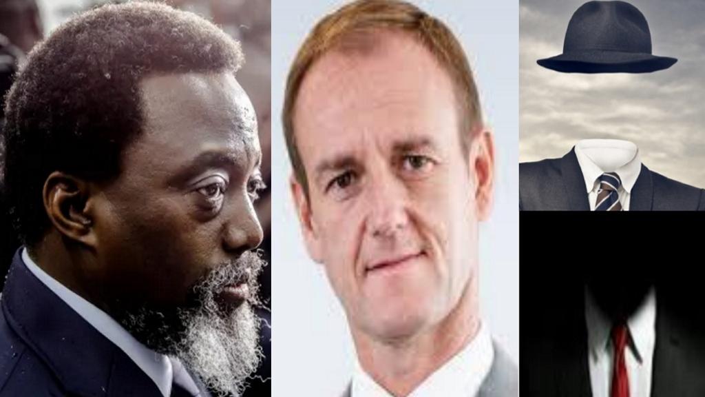 Joseph Kabila et les amis Belges