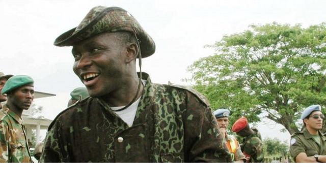 Le Général de Division Gabriel Amisi Kumba (alias Tango Four), commandant de la première zone de défense du pays
