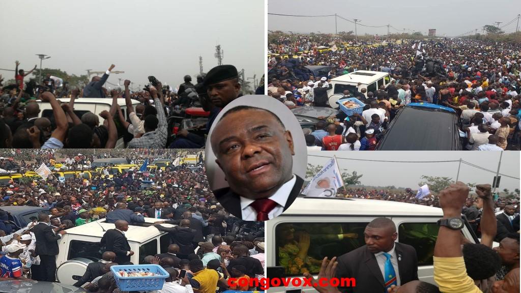 Arrivee de Jean-Pierre Bemba a Kinshasa le 01-08-2018