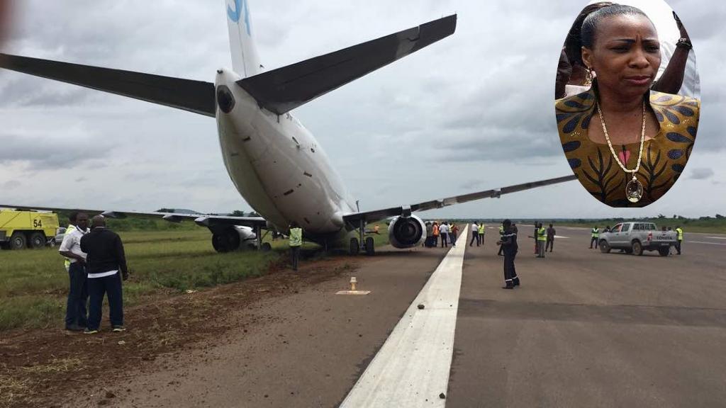 Fraude d'assurance aerienne, Olive Lembe Kabila