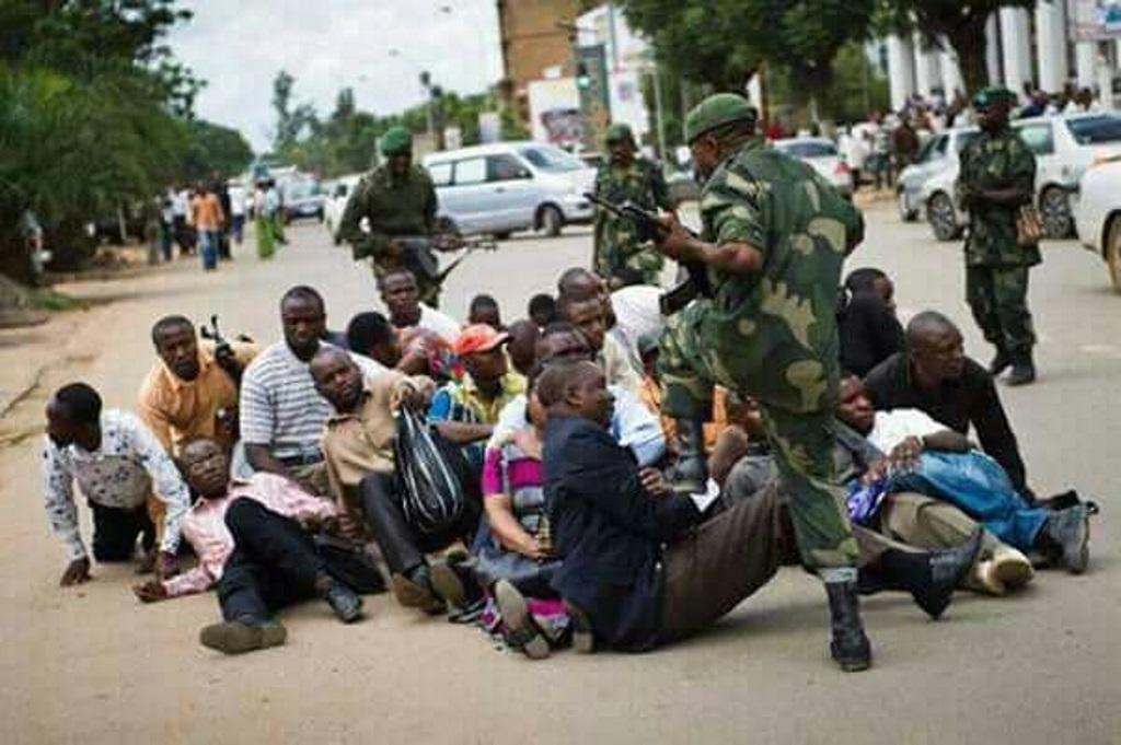 BRUTALITE POLICIERE EN RDC , Le 31-12-2017