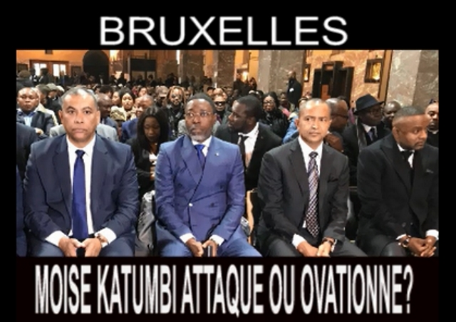 Olivier Kamitatu, Bruno Tshibala, Moise Katumbi et son conseiller Salomon Idi Kalonda Della