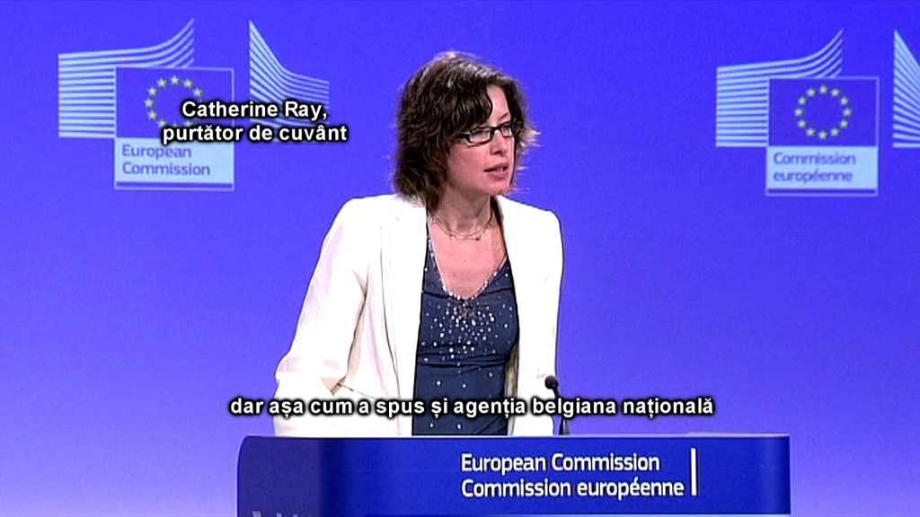 Catherine Ray, Porte Parole de la Communauté Européenne