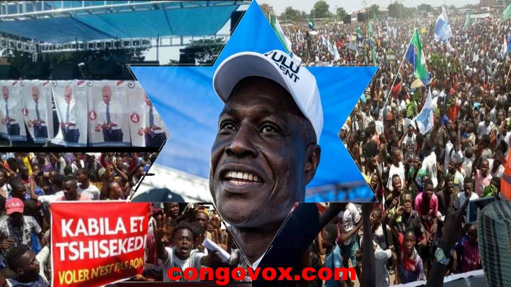 Martin Fayulu, Place Sainte Therese, Kinshasa, 02-02-2019