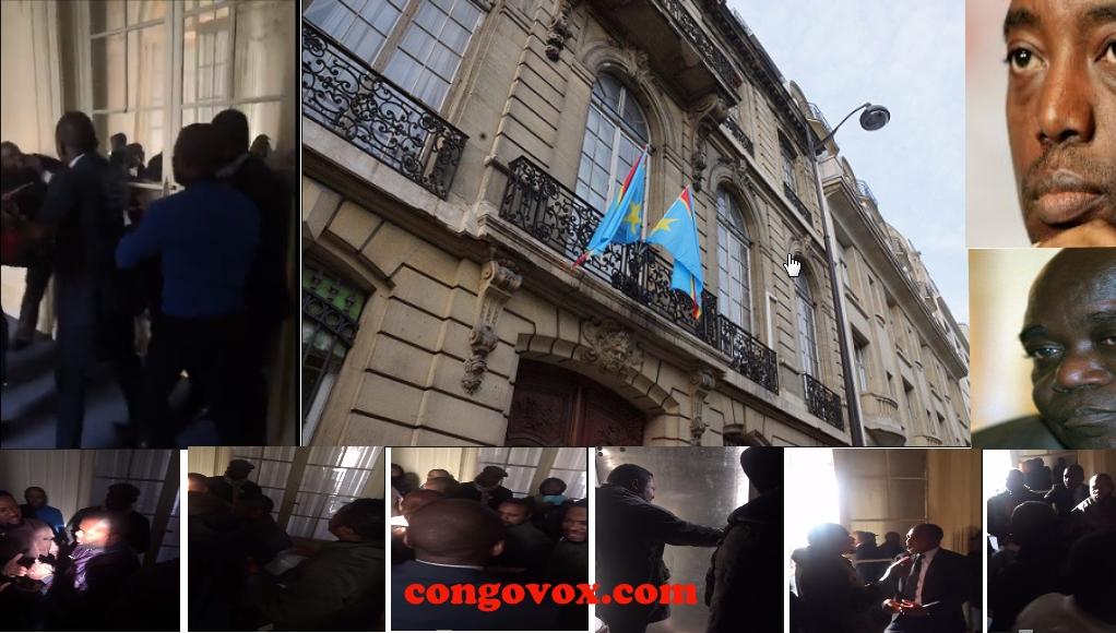 Chute de l'Ambassade de la RD Congo de Paris-FRANCE