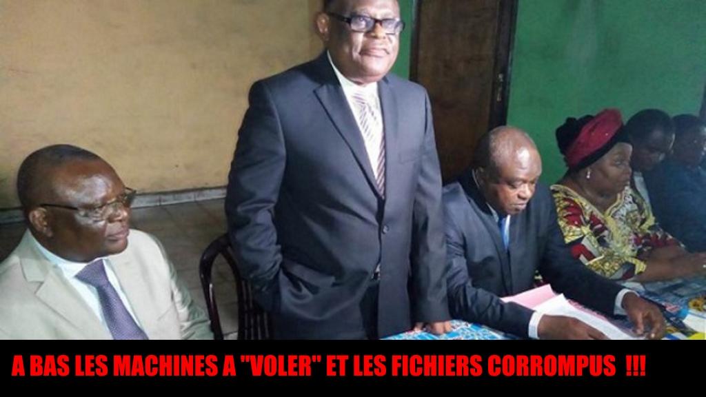 CLC Campagne contre les machines a voter et les fichiers corrompus de la CENI