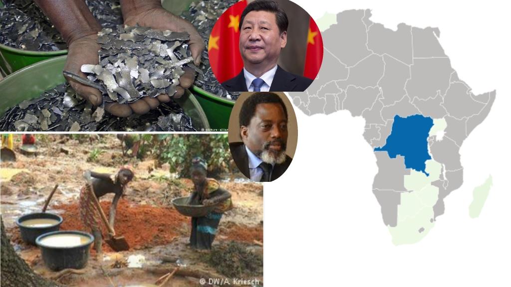 Joseph Kabila et Xi Ji Ping