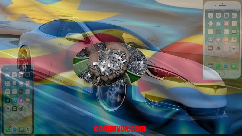Cobalt de la RDC dans la fabrication de voitures éléctriques