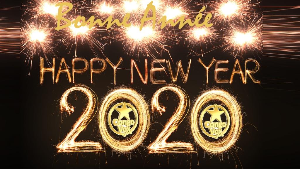 Bonne annee 2020, la Redaction de Congovox