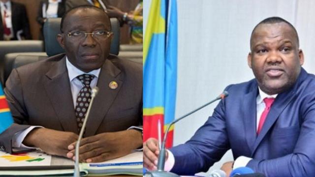 Raymond Tshibanda  et Corneille Nangaa
