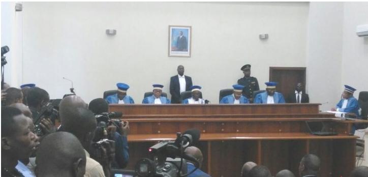 La Cour Constitutionnelle de la RDC au 17-10-2016, siegant san corum !!!