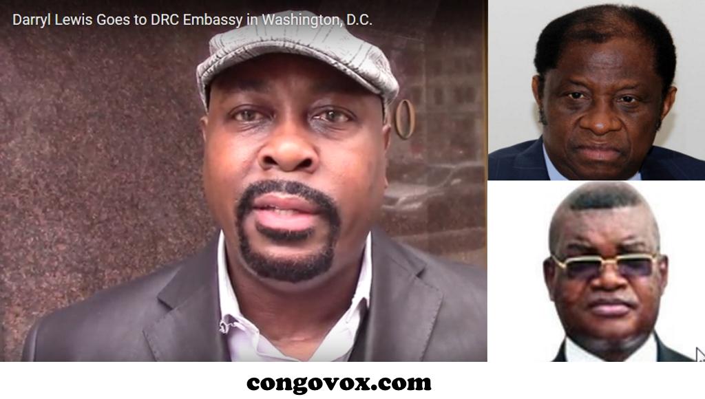 Daryl Lewis, Tambwe Mwamba et Kalev Mutond (ANR)