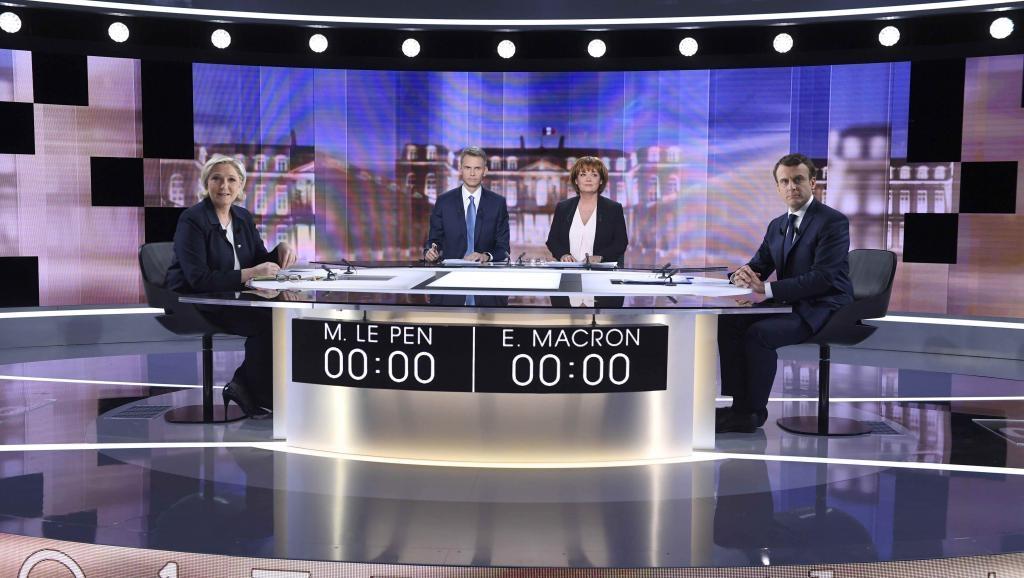 Présidentielle en France: Débat télévisé entre Macron et Le Pen: