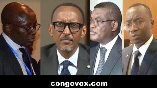 Kikaya bin Karubi, Paul Kagame, Kalev Mutond, Nehemie Mwilanya